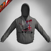 Cloth Hoodie - Jacke mit Kapuze 3d model