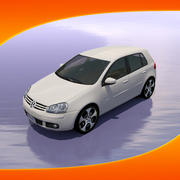 Car Volkswagen Golf 3d model