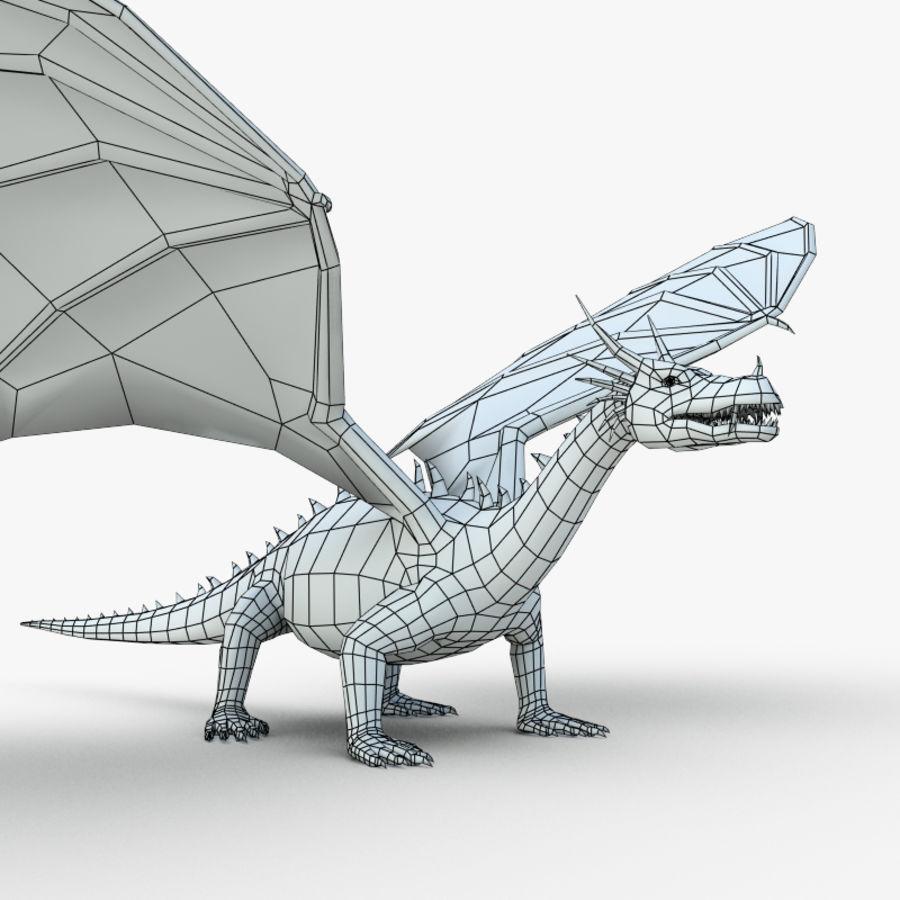 Dragon royalty-free 3d model - Preview no. 3