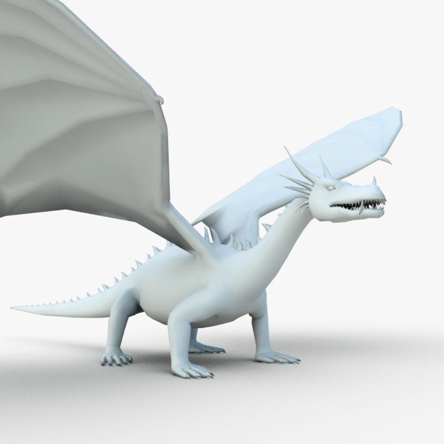 Dragon royalty-free 3d model - Preview no. 2