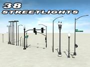 LAMPADAIRES 3d model