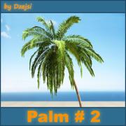Palm # 2 3d model