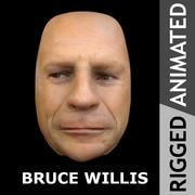 Geanimeerde Bruce Willis 3d model