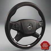 Mercedes Steering Wheel 3d model