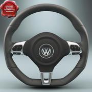 Volkswagen Рулевое колесо 3d model