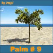 Palm # 9 3d model