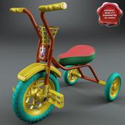 Triciclo Infantil V2 3d model
