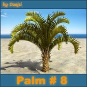 Palm # 8 3d model