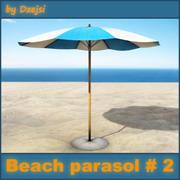 Strand parasoll # 2 3d model