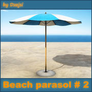 Beach parasol # 2 3d model
