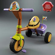 Triciclo Infantil V4 3d model