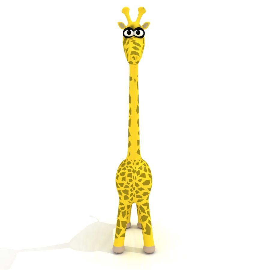 Cartoon Giraffe - RIGGED royalty-free 3d model - Preview no. 1