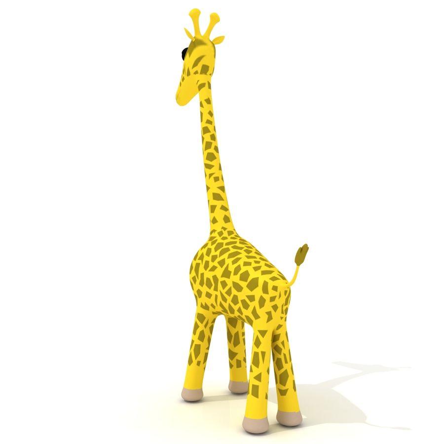Cartoon Giraffe - RIGGED royalty-free 3d model - Preview no. 3
