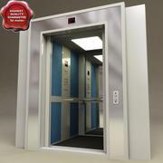 Лифт Интерьер V1 3d model