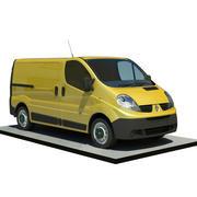 Renault trafic L1H1 3d model