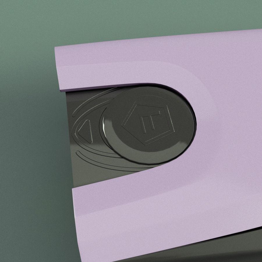 眩晕枪泰瑟C2 royalty-free 3d model - Preview no. 13