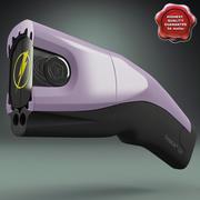 Stun Gun Taser C2 3d model