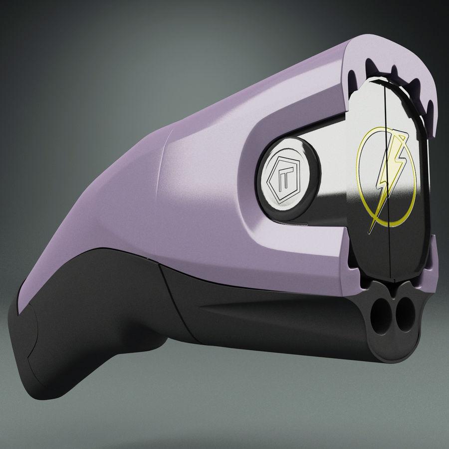 眩晕枪泰瑟C2 royalty-free 3d model - Preview no. 4