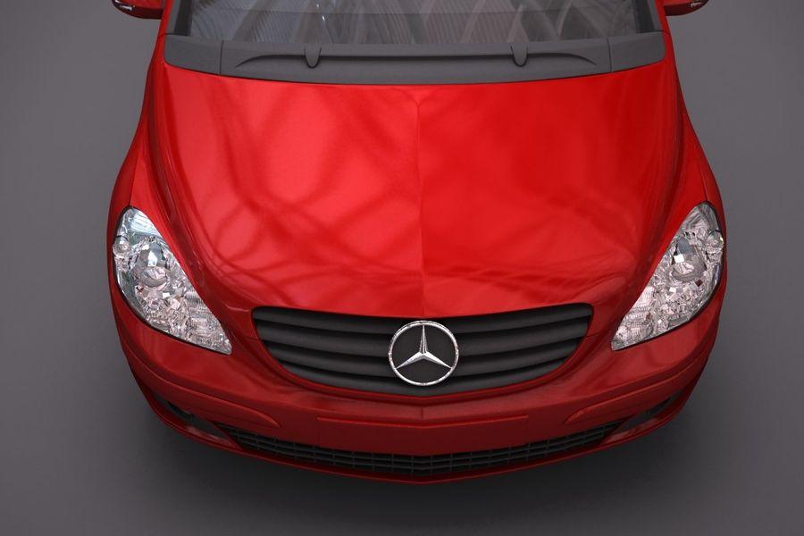 Mercedes Benz B Class royalty-free 3d model - Preview no. 8