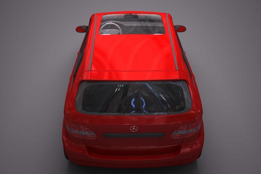 Mercedes Benz B Class royalty-free 3d model - Preview no. 9