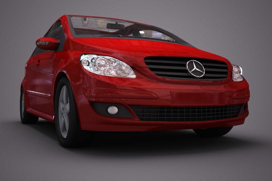 Mercedes Benz B Class royalty-free 3d model - Preview no. 6