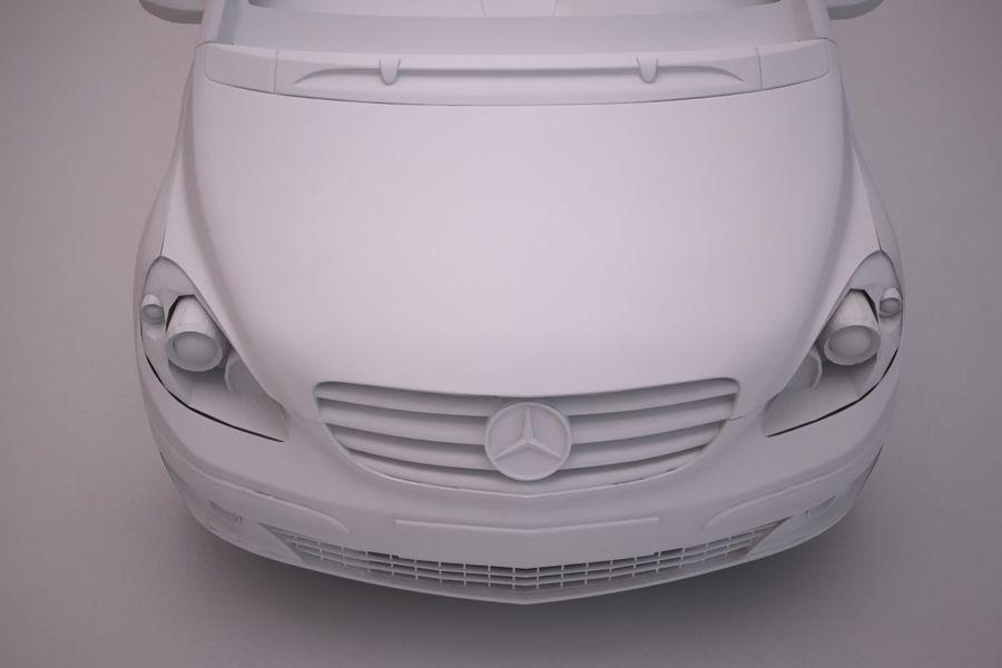 Mercedes Benz B Class royalty-free 3d model - Preview no. 18