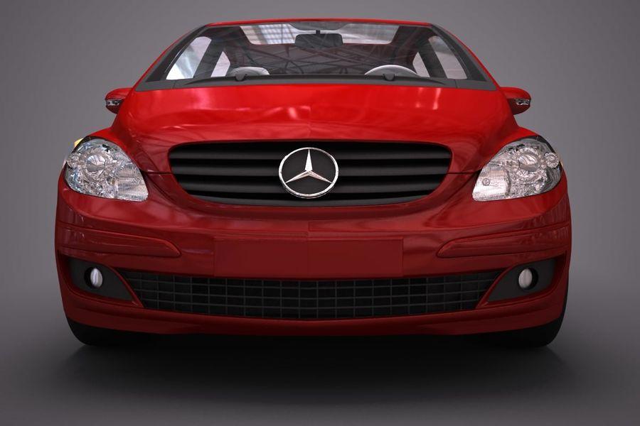 Mercedes Benz B Class royalty-free 3d model - Preview no. 7