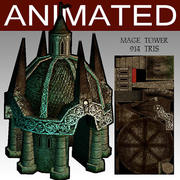 mage_tower 3d model