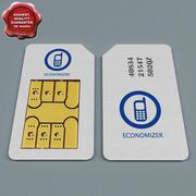 Carte Sim V2 3d model