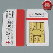 Сим-карта V3 3d model
