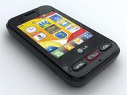 LG Cookie 3G T320 3d model