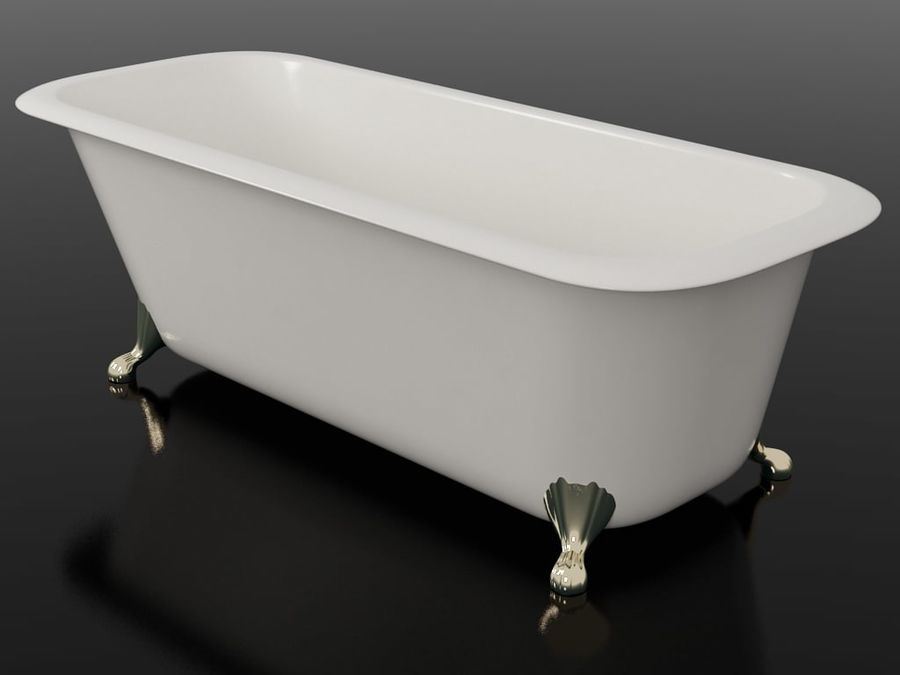 Banho royalty-free 3d model - Preview no. 1