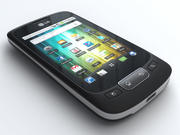 LG Optimus One P500 3d model