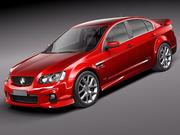 Holden Commodore 2011 sedan 3d model