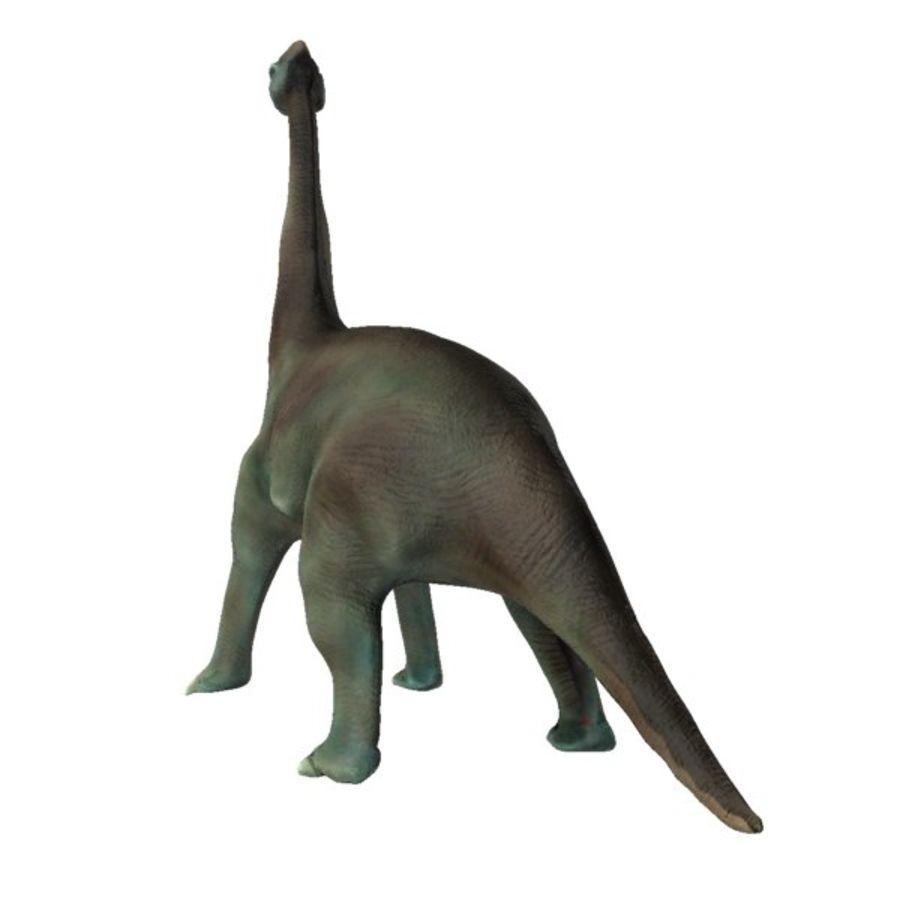 Brachiosauras (1) royalty-free modelo 3d - Preview no. 3