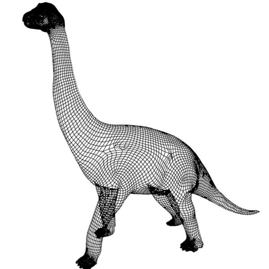 Brachiosauras (1) royalty-free modelo 3d - Preview no. 5