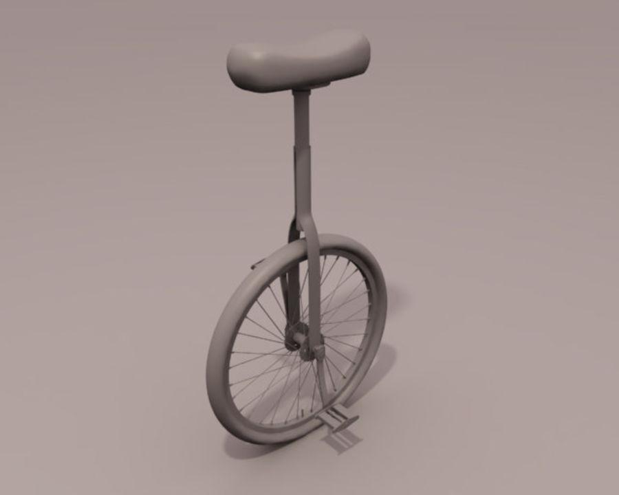 一輪車 royalty-free 3d model - Preview no. 1