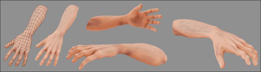 Человек Мужчина Бас Голый royalty-free 3d model - Preview no. 4