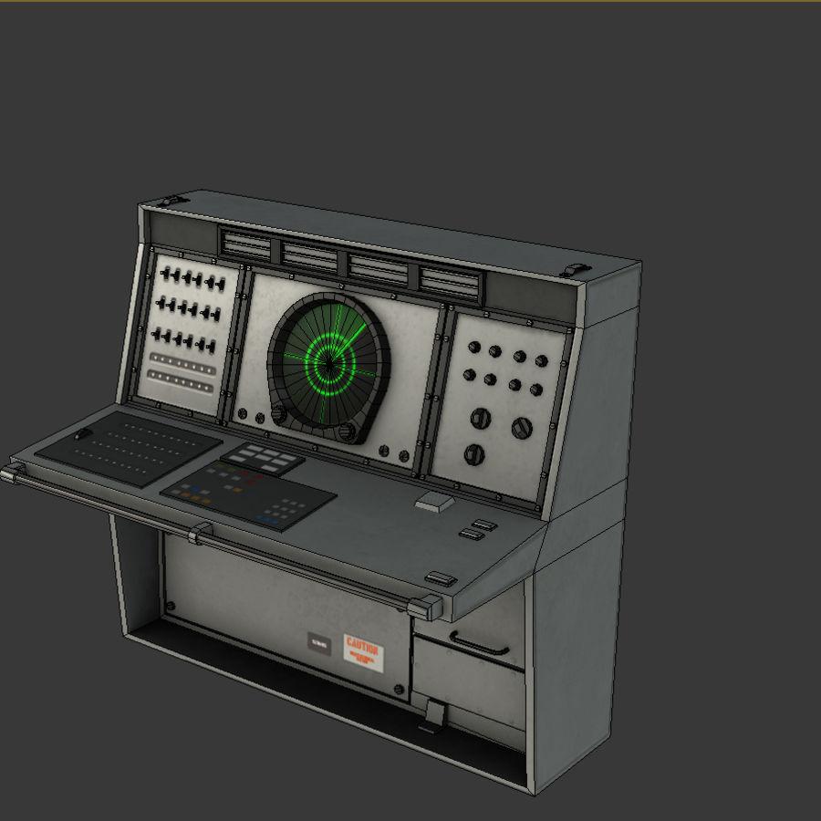 レーダーコンソールゲームレディ royalty-free 3d model - Preview no. 4