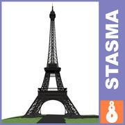 Torre Eiffel modelo 3d