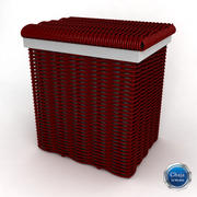Laundry Basket 1 3d model