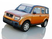 Honda Element Suv 3d model