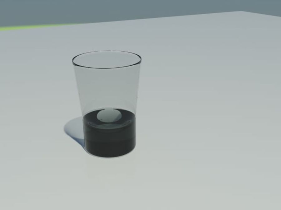 Рюмка royalty-free 3d model - Preview no. 2