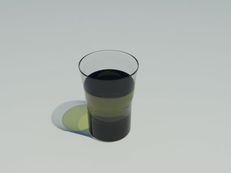 Рюмка royalty-free 3d model - Preview no. 1