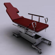 Lit d'hôpital 3d model