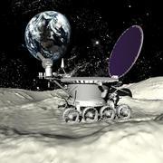 Lunokhod 3d model