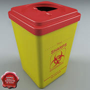 Biohazard Sharp 3d model