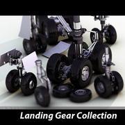 起落架系列 3d model