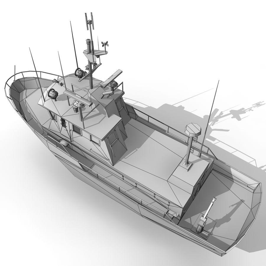 船 royalty-free 3d model - Preview no. 7