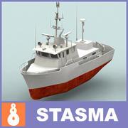 船 3d model